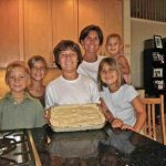 Look What We Made!!!  A TASTE Mom With Some Of Her Children! A Catholic Family Cookbook creation!