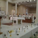 Our Healing Mass with over 75 Relics! What a wonderful day! Please Pray For All Priests!