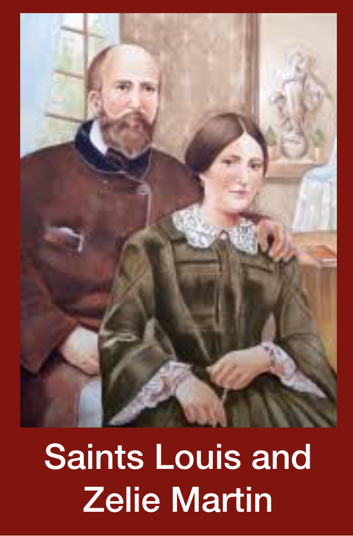 Sts. Louis and Zelie Martin